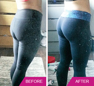My glutes results